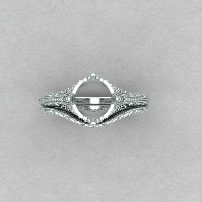 Custom Wedding Ring Set For Lindsay Robins 2 Payments Aardvark